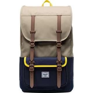 Herschel Rucksack Little America Pro Daypack beige/blau