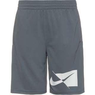 Nike DRY HBR Shorts Kinder smoke grey-white