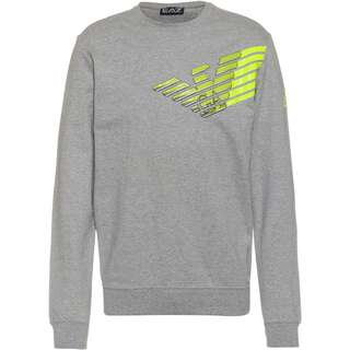 EA7 Emporio Armani Sweatshirt Herren medium grey melange
