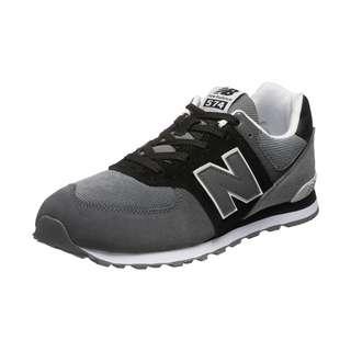 NEW BALANCE 574 Sneaker Kinder schwarz / grau