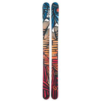 SCOTT Set Scrapper + NS14 Freeride Ski rot/orange/blau