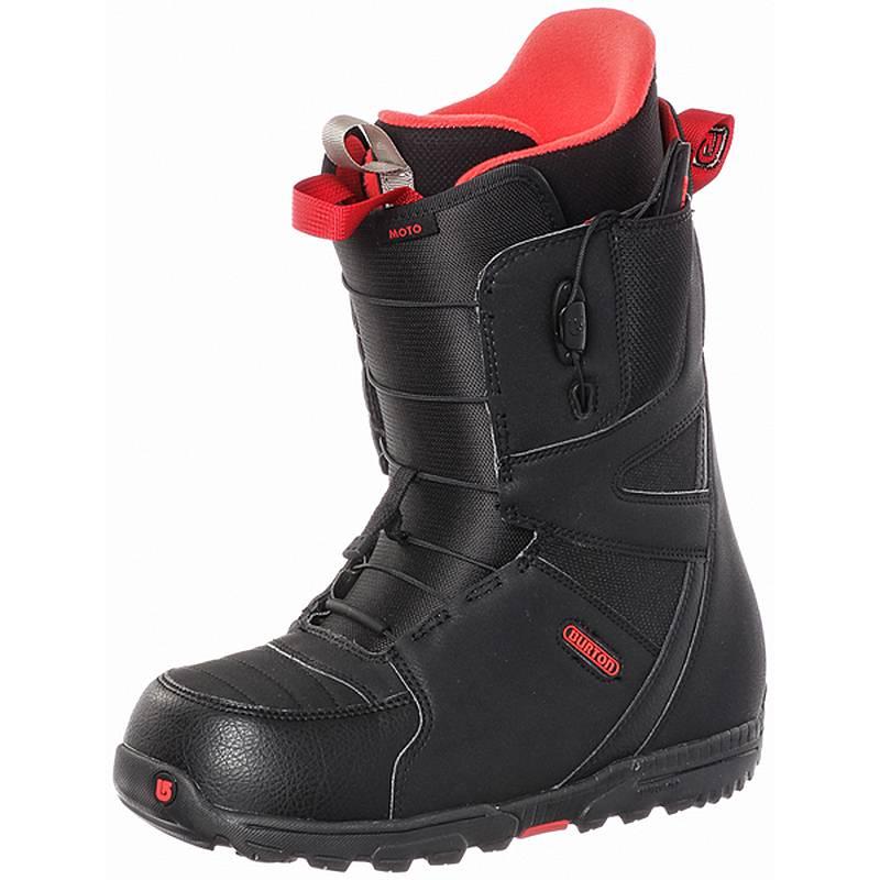 Burton Moto Snowboard Boots Schwarzrot Im Online Shop Von