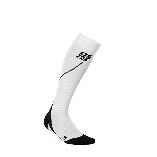 CEP Run Sock 2.0 Kompressionsstrümpfe Herren weiß