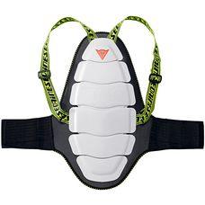 Dainese Ultimate Bap Evo Rückenprotektor weiß/schwarz