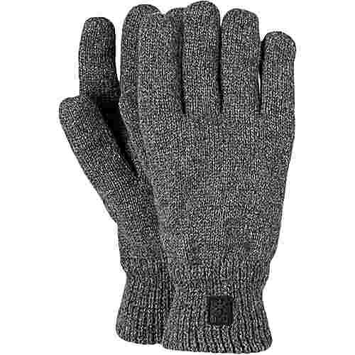 Barts Haakon Fingerhandschuhe grau