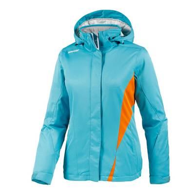 Ziener Tilac Skijacke Damen aqua/orange