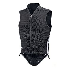 Dainese Waistcoat Protektorenweste schwarz/weiß