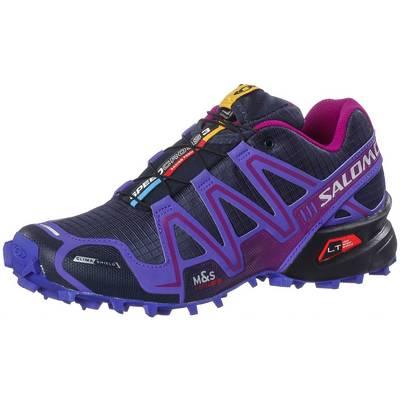 Salomon Speedcross 3 CS Laufschuhe Damen dunkelblau/lila
