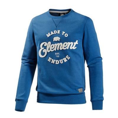 Element Russel Sweatshirt Herren türkis