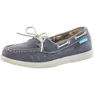 Brakeburn Haven Bootsschuhe Damen blau/weiß