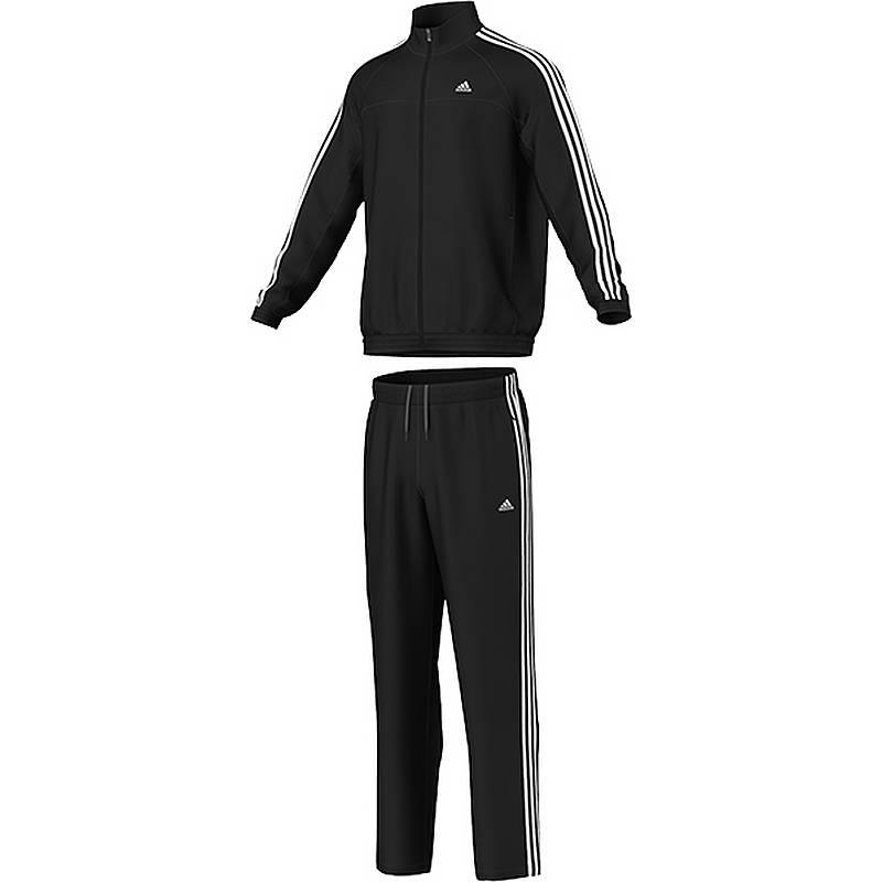 adidas anzug schwarz