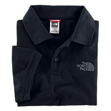 The North Face Piquet Poloshirt Herren schwarz