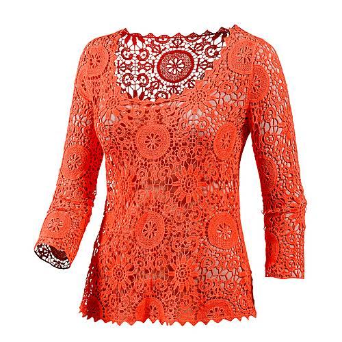 LingaDore Langarmshirt Damen koralle