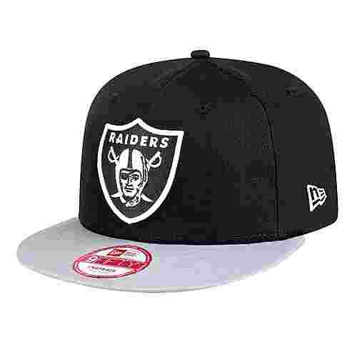 New Era 9FIFTY OAKLAND RAIDERS Cap schwarz/grau