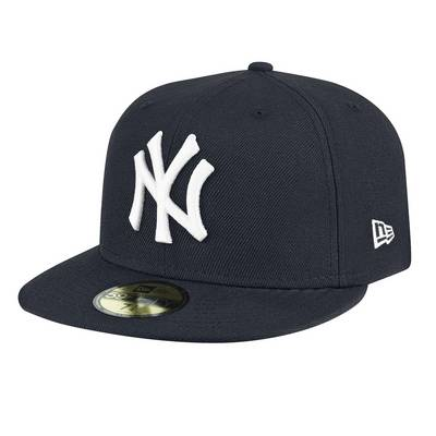 New Era 59Fifty New York Yankees Cap schwarz/weiß