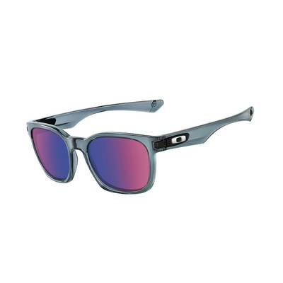 Oakley Garage Rock Sonnenbrille Herren crystal black/positive red iridium