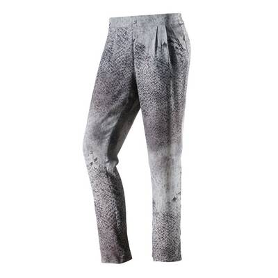 Rich & Royal Bundfaltenhose Damen grau