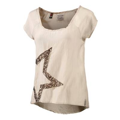 timezone t shirt damen beige im online shop von. Black Bedroom Furniture Sets. Home Design Ideas