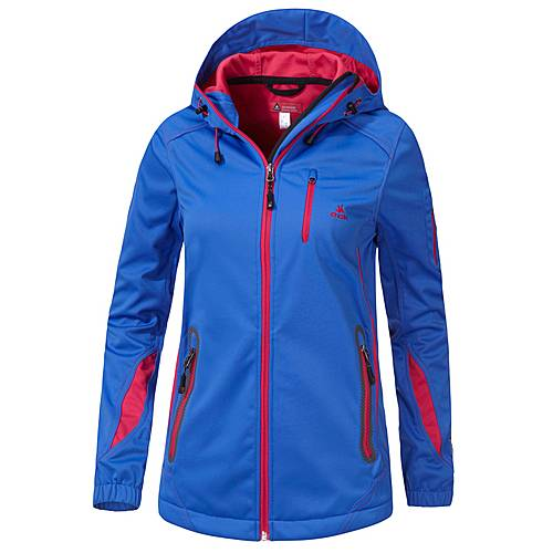 OCK Softshelljacke Damen royal