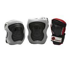 K2 Performance M Protektorenset Herren grau/schwarz/rot