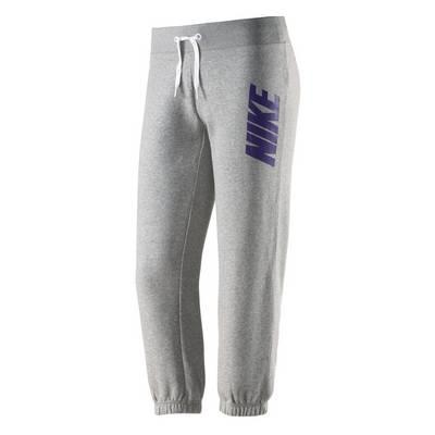Nike Sweathose Damen graumelange/lila