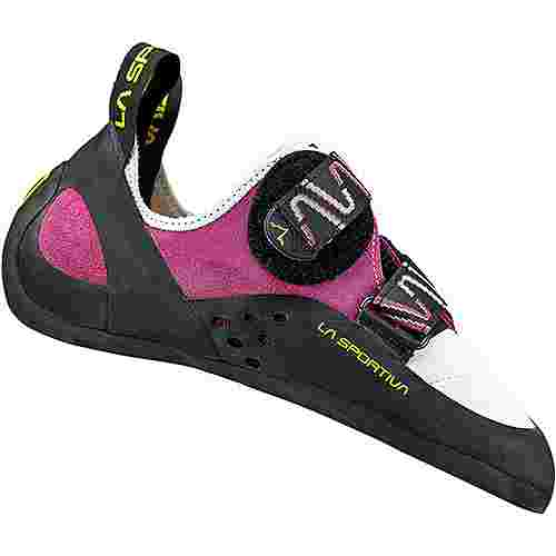 La Sportiva Katana Kletterschuhe Damen pink/weiß