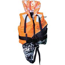 Jetpilot Nylon Life Jacket CE Prallschutzweste Kinder orange