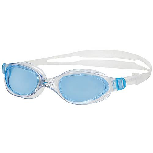 SPEEDO Futura Plus Schwimmbrille CLEAR/BLUE