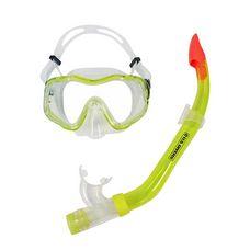 US Divers Martinique LX Schnorchelset gelb