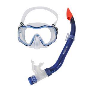 US Divers Martinique LX Schnorchelset blau