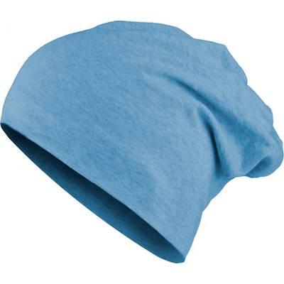 MasterDis Jersey Beanie blau
