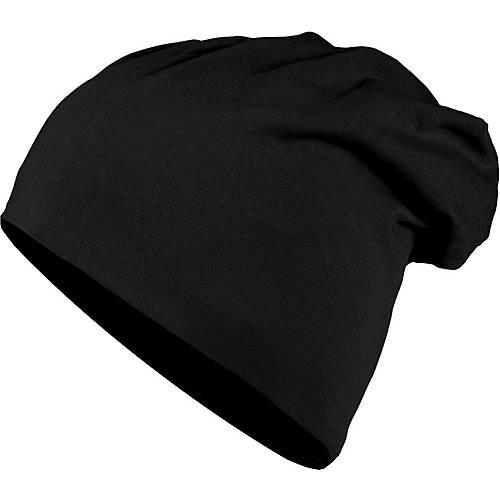 MasterDis Jersey Beanie schwarz