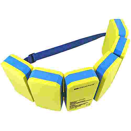 AQUATICS Schwimmgürtel Schwimmhilfe gelb/blau