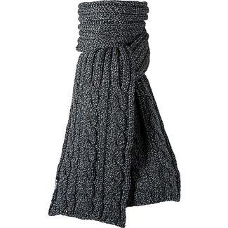Barts Twister Strickschal Herren schwarz