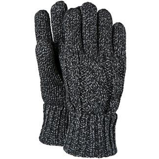 Barts Twister Fingerhandschuhe Herren schwarz