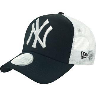 New Era Clean Trucker NY Yankees Cap schwarz/weiß