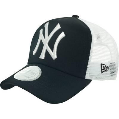 New Era Clean Truckers NY Yankees Cap schwarz/weiß
