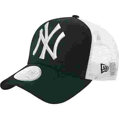 New Era Clean Trucker NY Yankees Cap schwarz/weiß