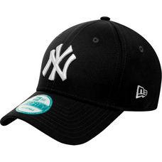 New Era 9Forty New York Yankees Cap schwarz/weiß