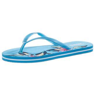 Maui Wowie Summer Zehentrenner Damen blau/weiß