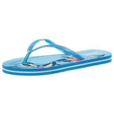 Maui Wowie Summer Zehensandalen Damen blau/weiß