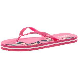 Maui Wowie Summer Zehentrenner Damen pink/weiß