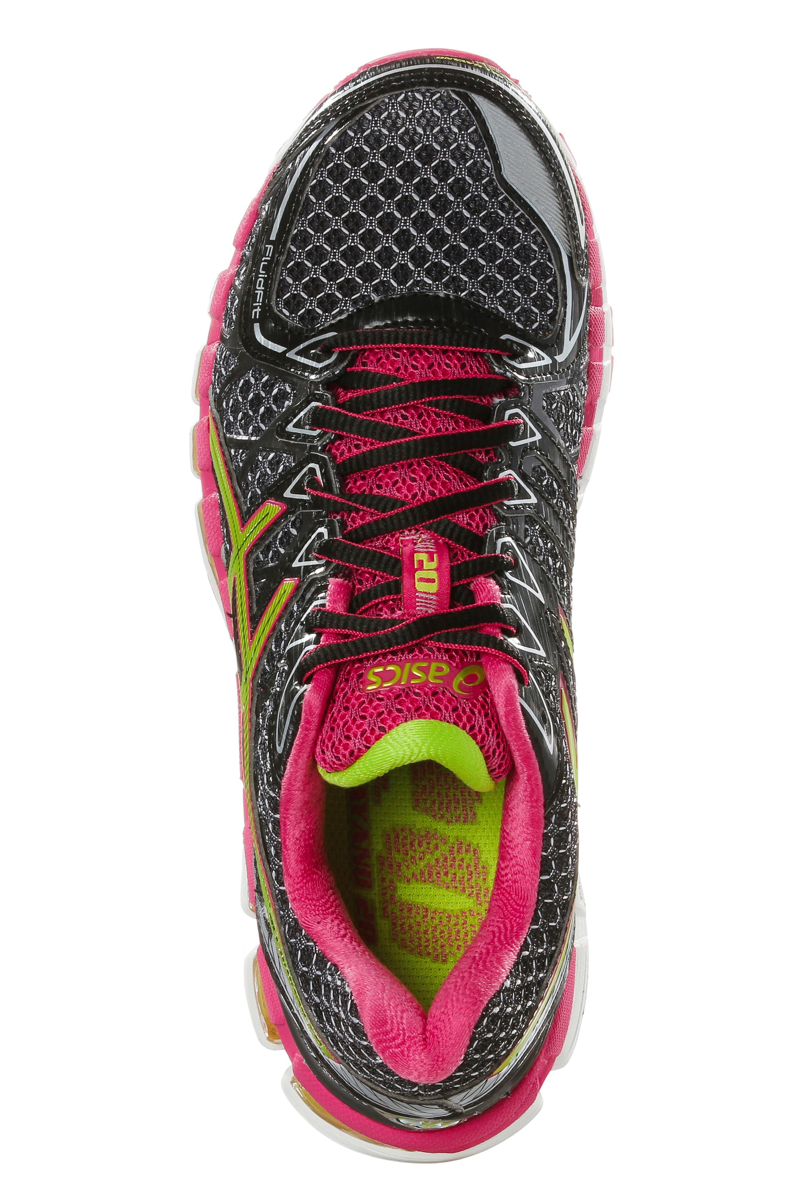 ASICS Gel Kayano 20 W Laufschuhe Damen schwarzpink im Online Shop von SportScheck kaufen