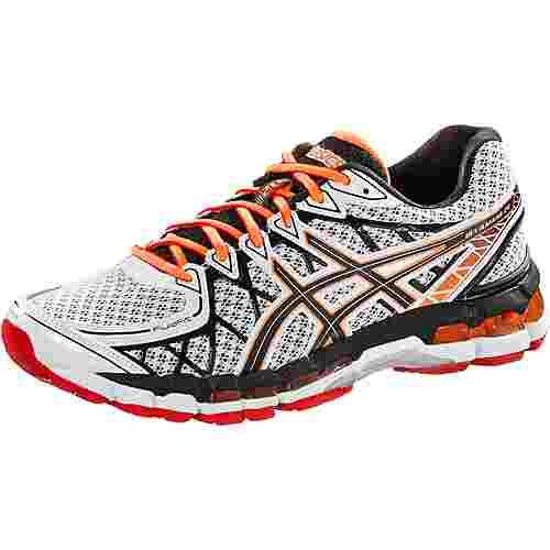 ASICS Gel Kayano 20 Laufschuhe Herren weiß/schwarz/orange im Online Shop  von SportScheck kaufen