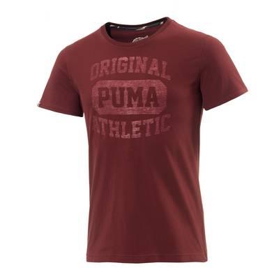 PUMA Varsity Printshirt Herren bordeaux