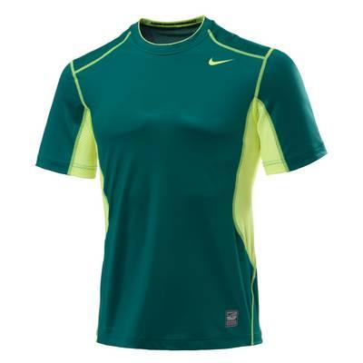 Nike Hypercool fitted Funktionsshirt Herren grün