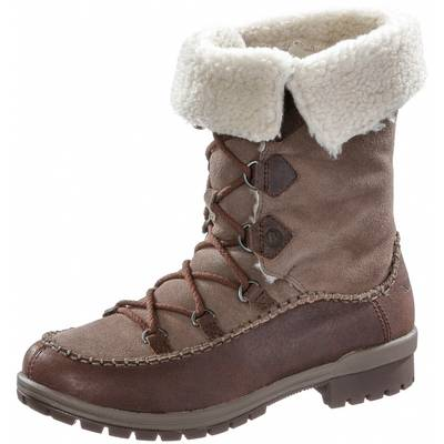 Merrell Emery Lace Leather High Winterschuhe Damen dunkelbraun