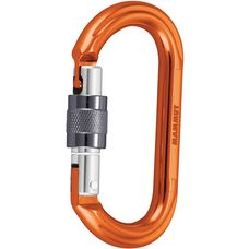 Mammut Wall Oval Karabiner orange