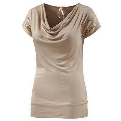 Mogul T-Shirt Damen beige