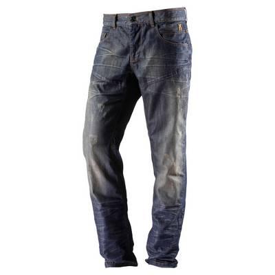 Neighborhood Loose Fit Jeans Herren dirty denim